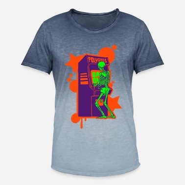 Retro Hi-Score: Crazy Neon - Men's Colour Gradient T-Shirt