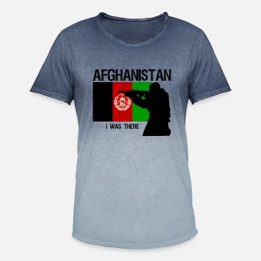 Afghanistan Military Afghanistan - Men's T-Shirt with colour gradients