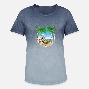 Relaxeation relax - Men's T-Shirt with colour gradients