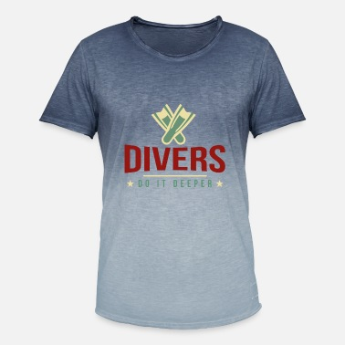 Dive Sex Funny Diver Sex Diving Divebuddy Dive Gift - Men's Colour Gradient T-Shirt