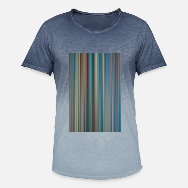 Stripe Pattern Stripe pattern - Men's T-Shirt with colour gradients