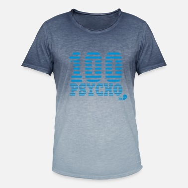 Soldier Of Fortune 100 Psico - Camiseta degradada hombre