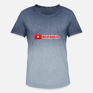 Youtuber Logo youtube - Men's T-Shirt with colour gradients