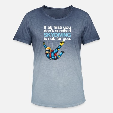 Shop Skydiving T Shirts Online Spreadshirt