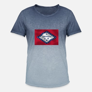 Arkansas Arkansas - Herre T-shirt i colour-block-optik
