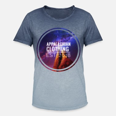 Nebula Nebula - Men's T-Shirt with colour gradients