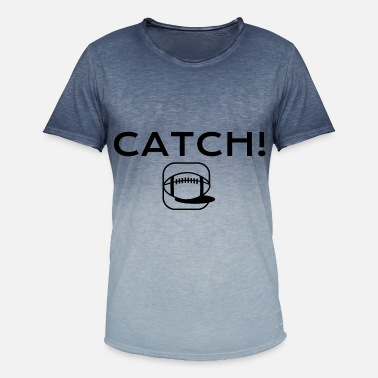 Catcher CATCH! - T-skjorte med fargegradering for menn