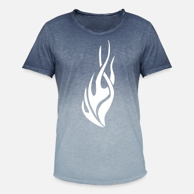 Fire tribal flame - Men's Colour Gradient T-Shirt