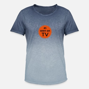 Television As Seen On TV - Men's Colour Gradient T-Shirt