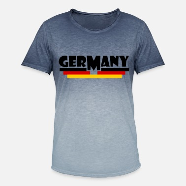 Flag Of Germany Germany flag - Germany flag - Men's Colour Gradient T-Shirt