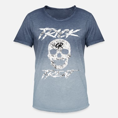 Treat Trick or Treat - Men's Colour Gradient T-Shirt