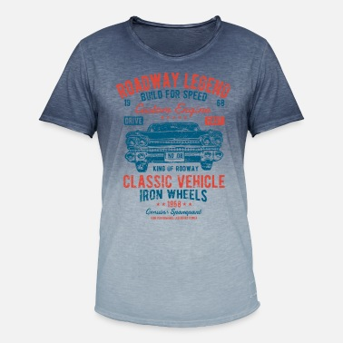Vintage Car Vintage Car - Car Vintage Car Shirt Gift - Men's Colour Gradient T-Shirt