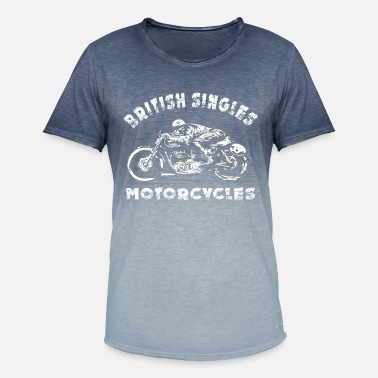 Matchless rider - Men's Colour Gradient T-Shirt