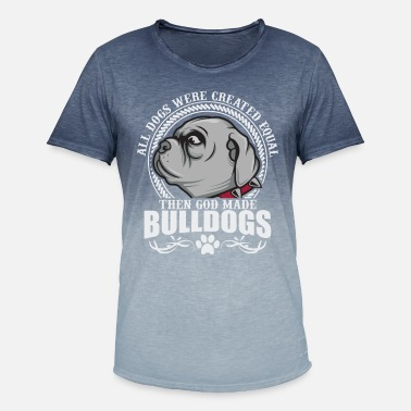 Bulldog Gift - Bulldog - Men's Colour Gradient T-Shirt