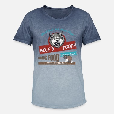 Tarantino Good Food For Mean Dogs - Men's Colour Gradient T-Shirt
