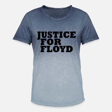 Floyd Justice For Floyd - Men's Colour Gradient T-Shirt