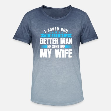 Husband Shirt For Husband - Men's Colour Gradient T-Shirt