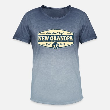 New Grandpa New Grandpa 2018 - Men's Colour Gradient T-Shirt