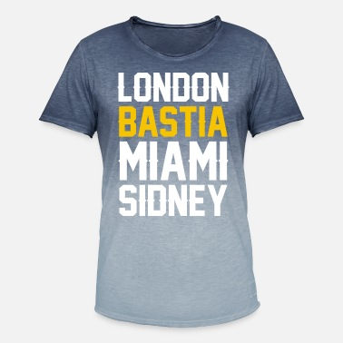 Régions De France France région Corse london bastia B - T-shirt dégradé Homme