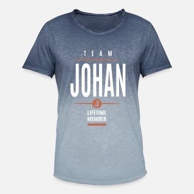 Johanne Johan Lifetime Member - T-shirt i colour-block-optik mænd