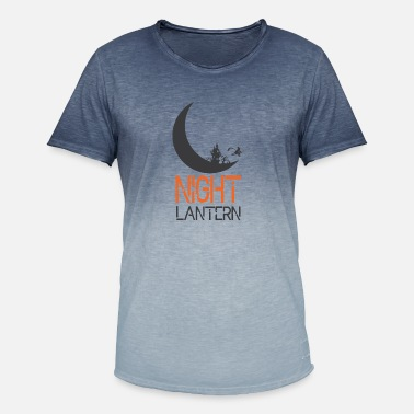 Night Of The Witches Night Lantern Halloween witches witch - Men's Colour Gradient T-Shirt