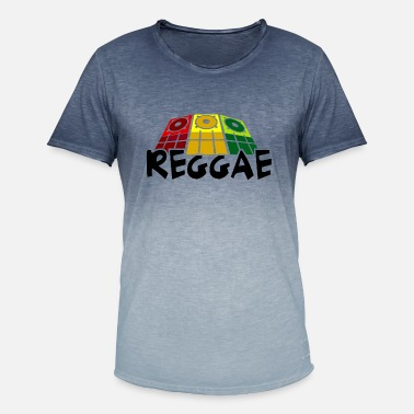 Dancehall reggae - Men's Colour Gradient T-Shirt