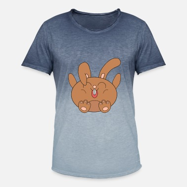 Thumper small chubby hare - Men's Colour Gradient T-Shirt