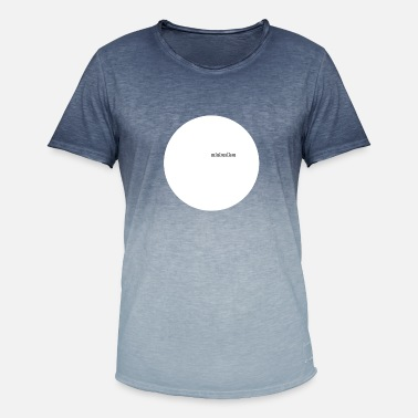 Minimalism MINIMALISM - Men's Colour Gradient T-Shirt