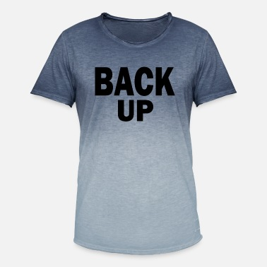 Back In The Day back up - Men's Colour Gradient T-Shirt
