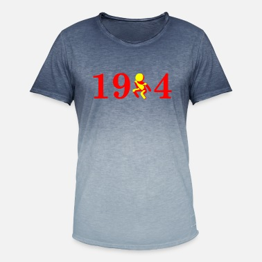 1904 1904 Establishment of Mechelen - Men's Colour Gradient T-Shirt