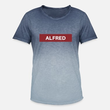 Alfred Alfred - Men's Colour Gradient T-Shirt