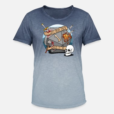 b10c3582 Dungeons And Dragons Guess I'll Die - DND D & D. Men's Colour  Gradient T-Shirt. Guess I'll Die ...