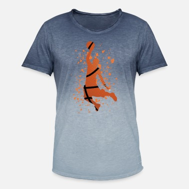 Jaime Le Basket Basket-ball - j'aime le basket-ball - T-shirt dégradé Homme