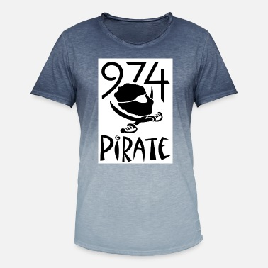 974_pirate_2_nr_bl - T-shirt dégradé Homme