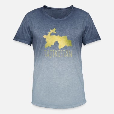 Tajikistan Tajikistan - Men's Colour Gradient T-Shirt