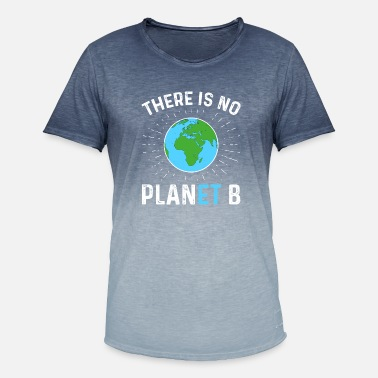 Save There Is No Planet B - Men's Colour Gradient T-Shirt