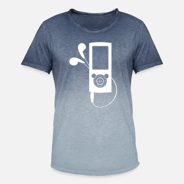 Mp3 MP3 Player - Mannen kleurverloop T-Shirt