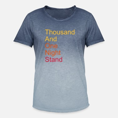 Amour thousand and one night stand 3colors - T-shirt i colour-block-optik mænd