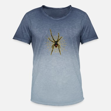Spider Black widow - spider - Men's Colour Gradient T-Shirt