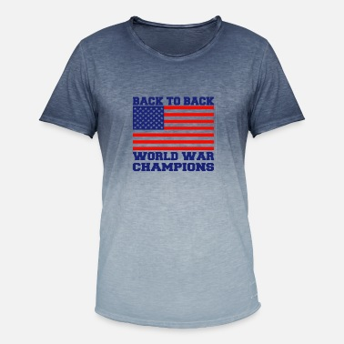 Back To Back World War Champions USA Back To Back World Champions - Men's Colour Gradient T-Shirt