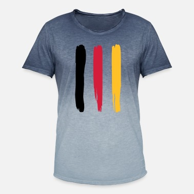 Flag Of Germany Germany flag – flag of Germany - Men's Colour Gradient T-Shirt