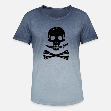 Pirate Pirate Pirates Skull - Men's Colour Gradient T-Shirt
