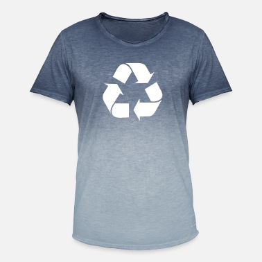 Recycling Recycle recycling - Men's Colour Gradient T-Shirt