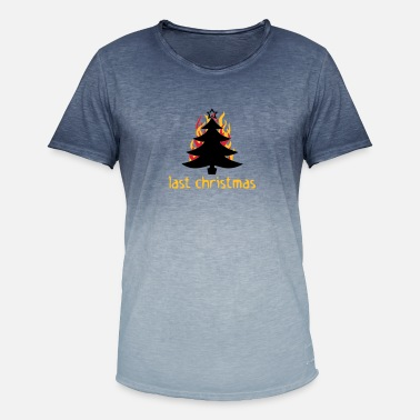 Song Last Christmas - Men's Colour Gradient T-Shirt