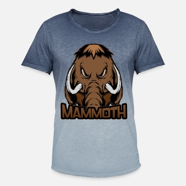 Mammoth Mammoth evil mammoth - Men's Colour Gradient T-Shirt