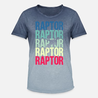 Raptor Raptor - Men's Colour Gradient T-Shirt