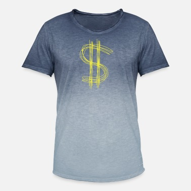 Dollar Sign Dollar sign dollar - Men's Colour Gradient T-Shirt