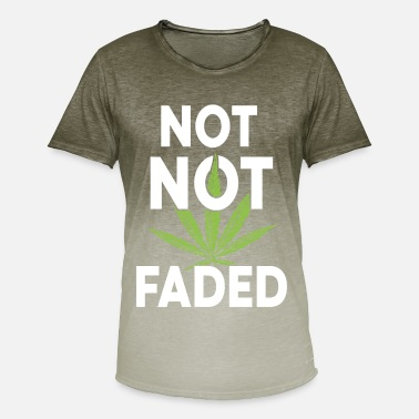 Faded not not faded - Men's T-Shirt with colour gradients