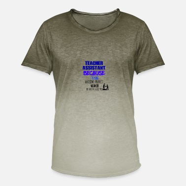 Teaching Teacher assistant - Men's T-Shirt with colour gradients