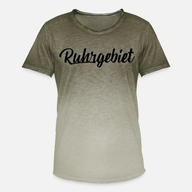 Ruhr City Ruhr - Men's Colour Gradient T-Shirt